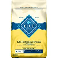 Blue Buffalo Life Protection Formula Natural Adult Healthy Weight Dry Dog Food, Chicken and Brown Rice