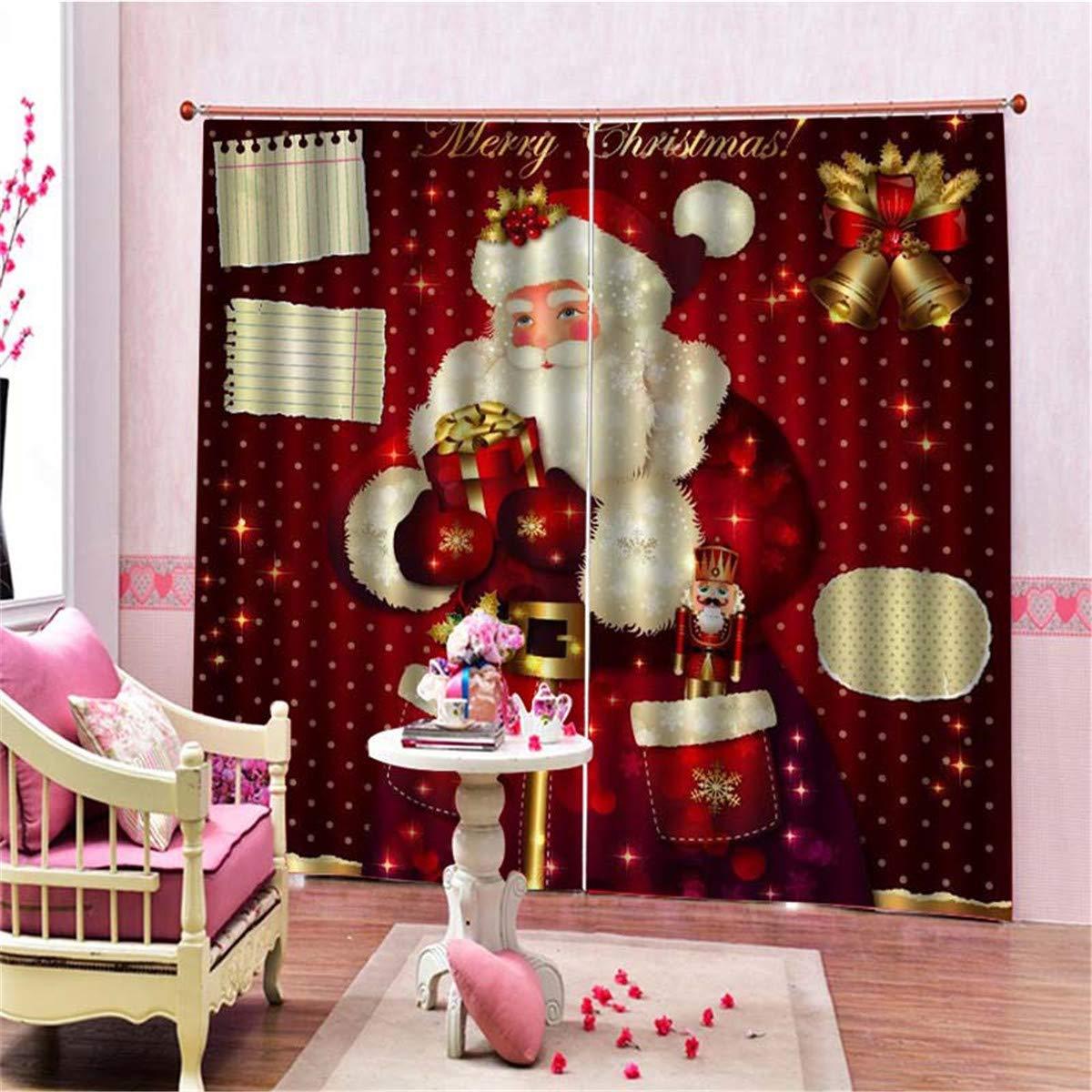 Global Brands Online Tela de Encargo de la Feliz Navidad Navidad Navidad Poliatilde;copy;Ster Papatilde;iexcl; Noel Impermeable Cuarto de Baatilde;plusmn;o Cortina de Ducha 56fa52