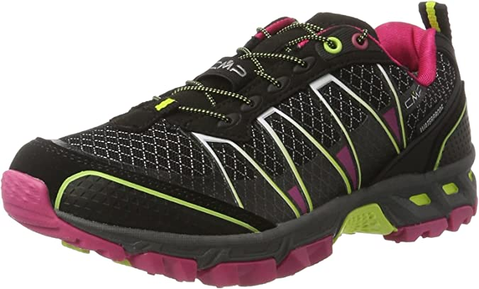CMP Atlas, Zapatillas de Running para Asfalto para Mujer, Negro (Nero-rasperry-Acido), 38 EU: Amazon.es: Zapatos y complementos