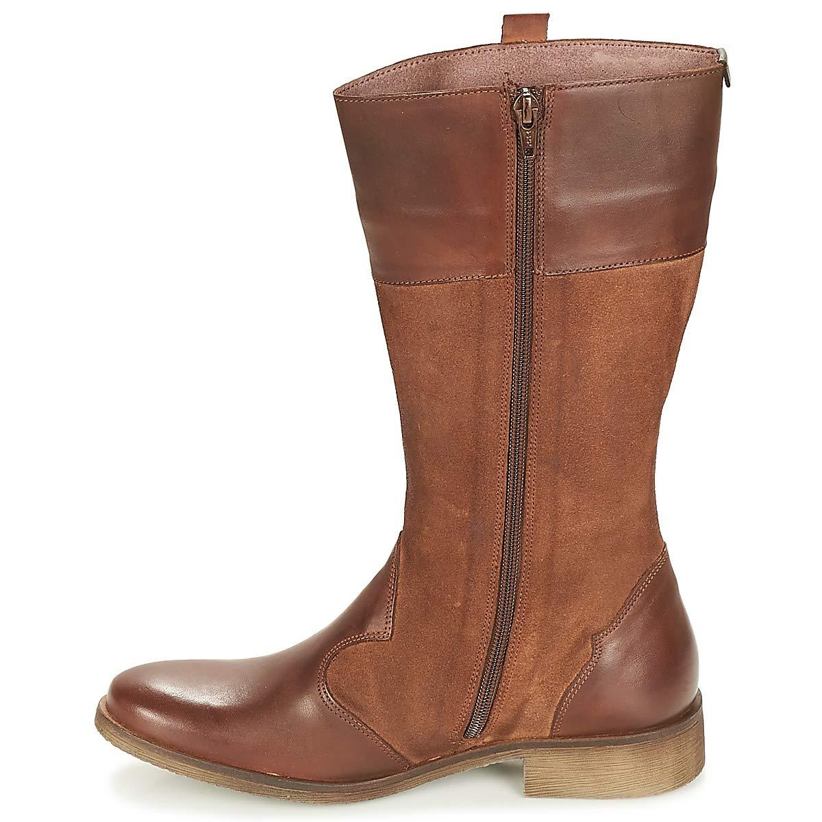Kickers LADDY Stiefel Camel Damen Camel Stiefel Klassische Stiefel 027b93