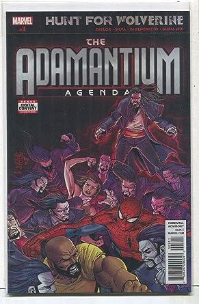 Amazon.com: The Adamantium Agenda # 3 NM Hunt For Wolverine ...