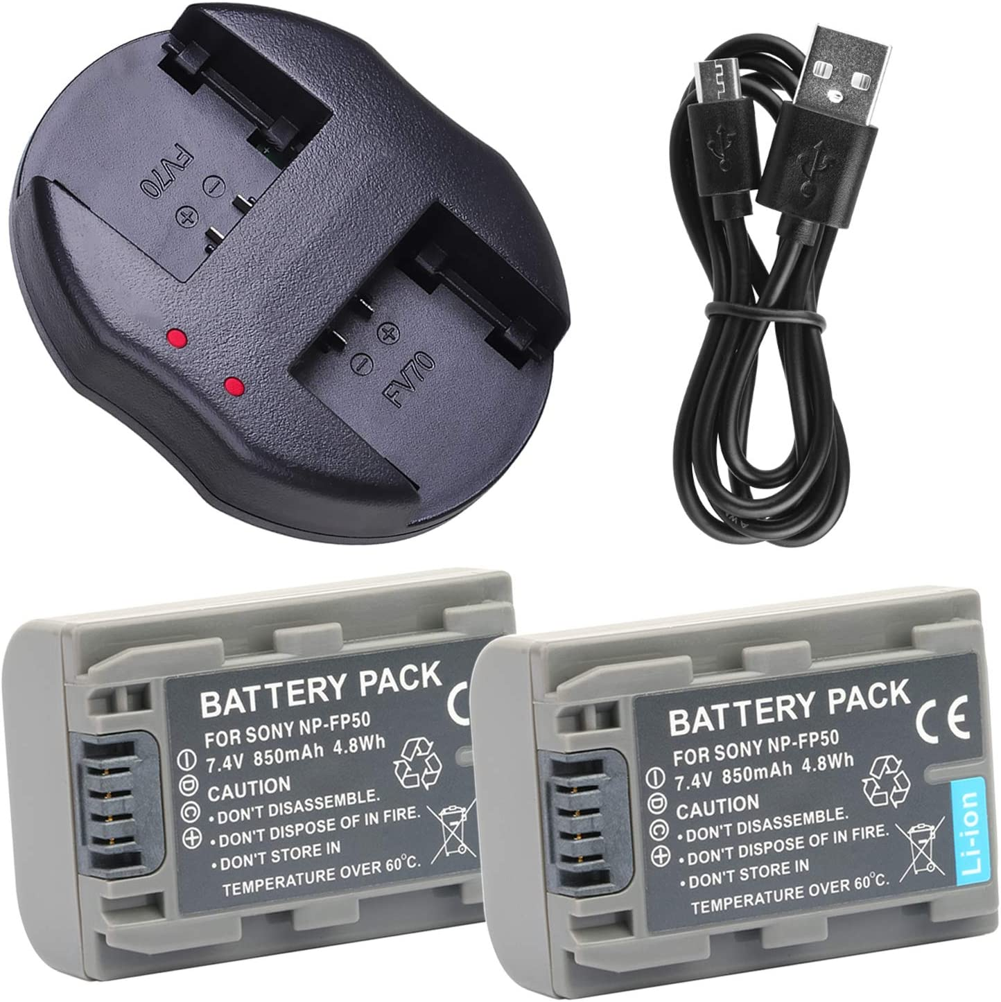 DCR-DVD602 Portable USB Battery Charger for Sony DCR-DVD505 DCR-DVD505E DCR-DVD602E Handycam Camcorder
