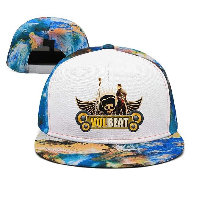 34ff6116974cb JesseKeats Man Volbeat-Logo- Snapback hat Trucker Hats Baseball Caps at  Amazon Men s Clothing store