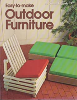 Furniture you can make sunset do it yourself books dw easy to make outdoor furniture a sunset book solutioingenieria Gallery