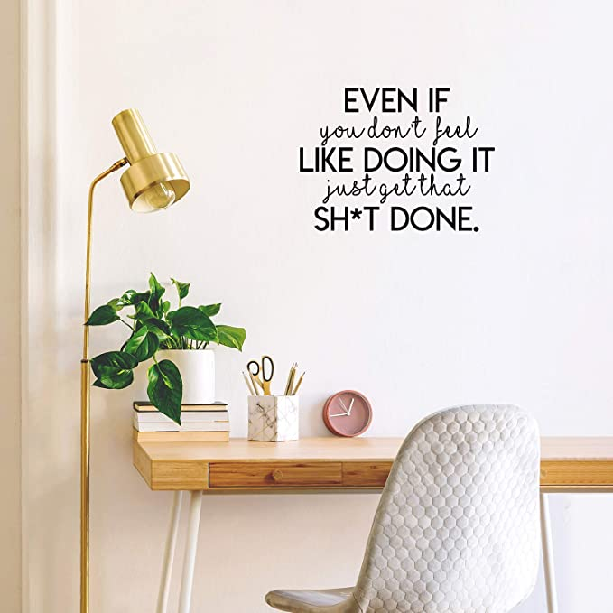 Exercise Gives You Endorphins Removable Vinyl Wall Art Decal Sticker Decor