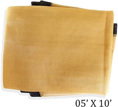 ToolUSA 5 X 10 Tan Sunshade Net TST-60510