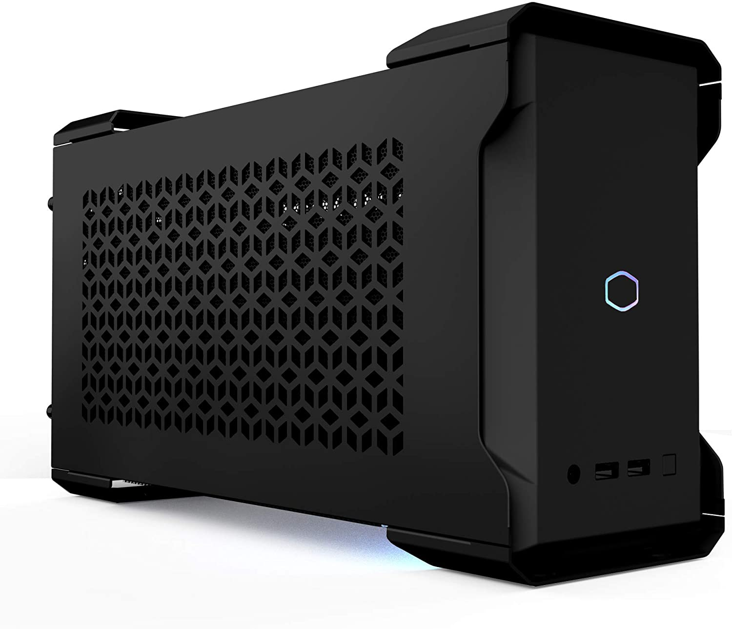 Cooler Master MasterCase NC100 White SFF Small Form Factor 7.9 Liter Case with V650 Gold SFX PSU