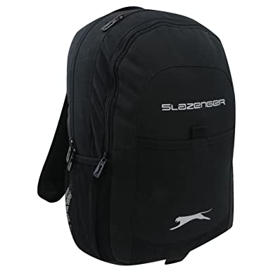 177347bff35 Amazon.com: Slazenger Tech Backpack Rucksack Bag School Travel Accessory  Black: Shoes
