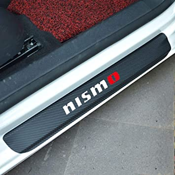 Carbon Fiber Car Side Door Edge Protection Guard Trim Sticker Fit For Nissan