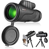 Tacklife 10x42 Monocular Telescope Scope with BAK4 Prism