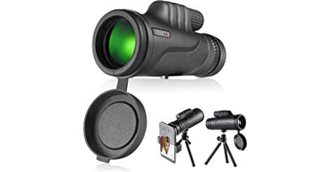 Tacklife 10x42 Monocular Telescope Scope with BAK4 Prism only $12.46