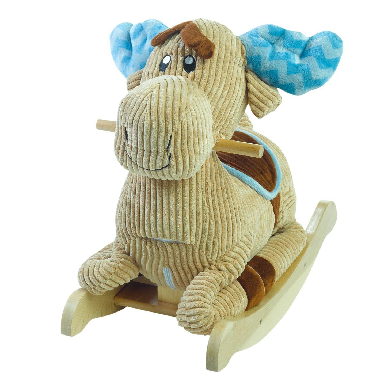 Rockabye Chocolate Moose Rocker Ride On