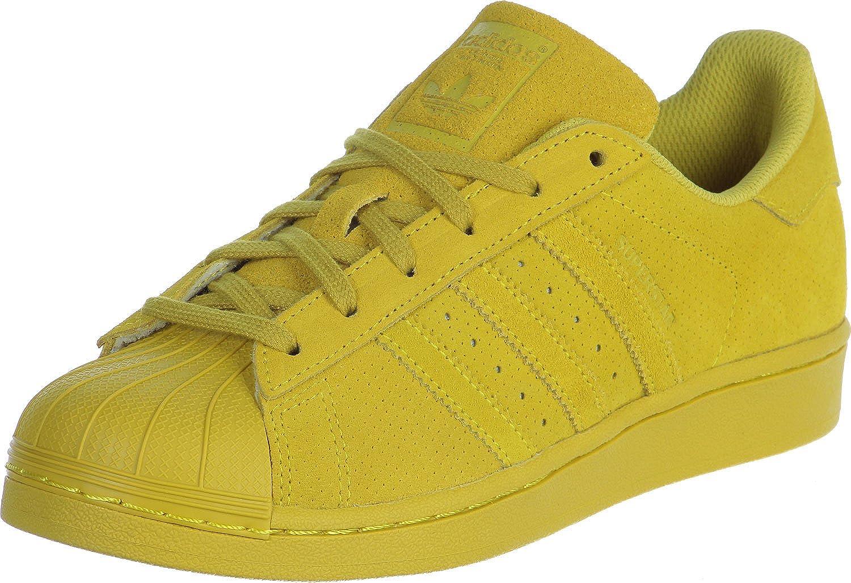 adidas superstar jaune femme