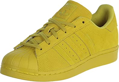 89924db271 adidas Superstar J W Shoes Yellow Size: UK 4: Amazon.co.uk: Shoes & Bags
