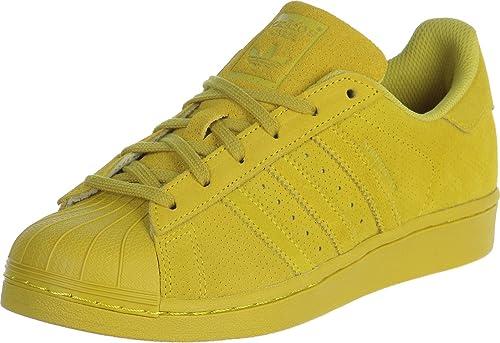 adidas superstar jaune