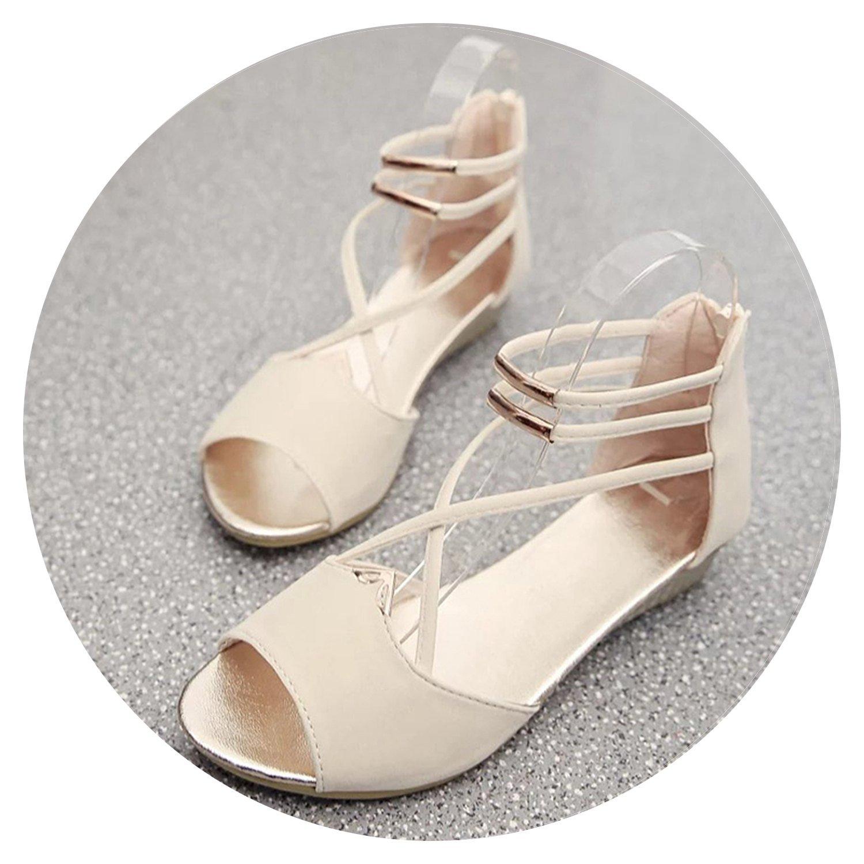 Outdoor Sports Women Sandal Shoes Summer Wedge Casual Lady Sandal Open Toe Gladiator Footwear Women