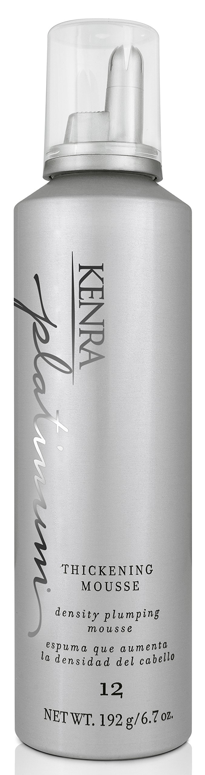 Kenra Platinum Thickening Mousse, 6.7-Ounce