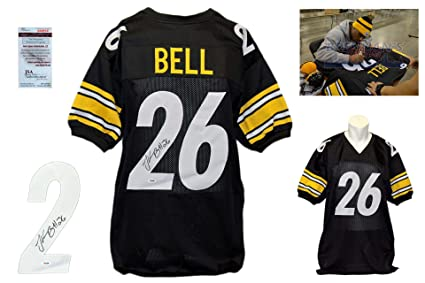 4e24044b30a Image Unavailable. Image not available for. Color  Leveon Bell Autographed  Signed Jersey - JSA Witnessed ...