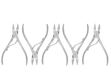 Nail nipper clipper plier for ingrown thick nail wire spring