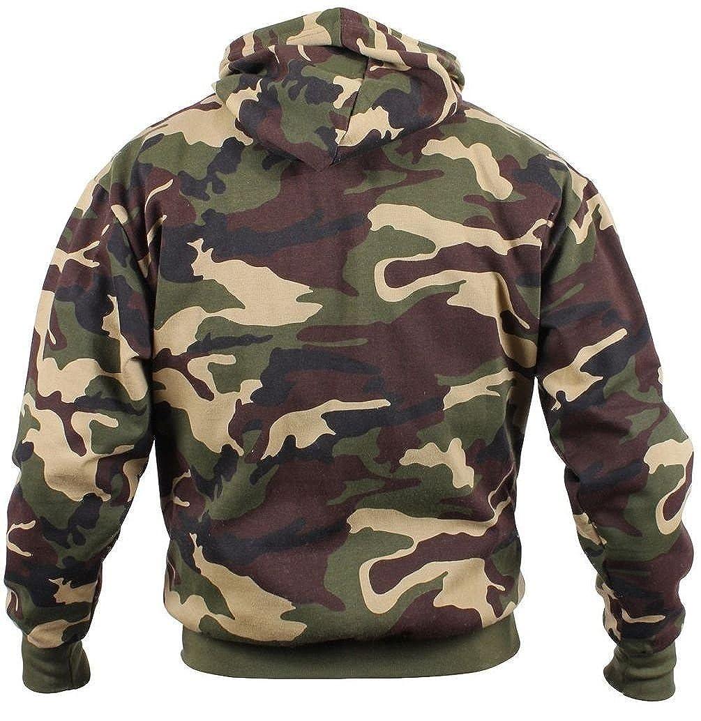 Amazon.com  Army Marine Navy Woodland Camouflage Pullover Hooded Hoodie  Sweatshirt  Clothing 6186bb6b9e8