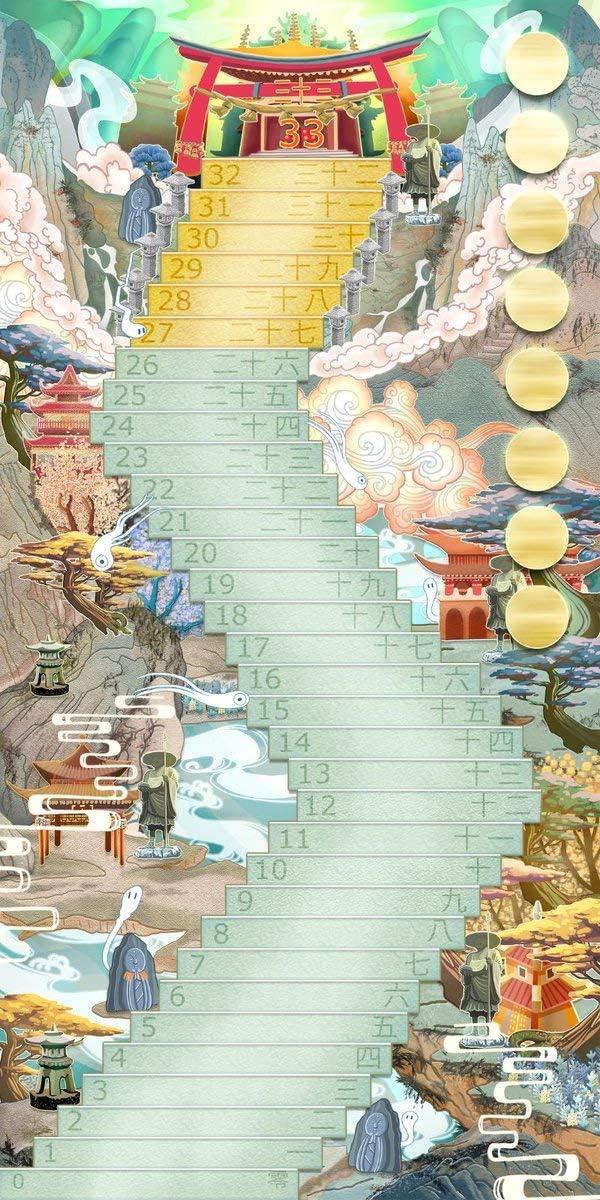 GM Games- Shikoku Juego de Cartas con Tablero, Color Blanco (GDM Games GDM128): Amazon.es: Juguetes y juegos