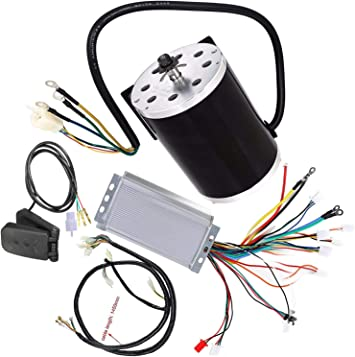 1800W 48V DC Brushless Motor Speed Controller Box Throttle Wire Loom E-bike ATV