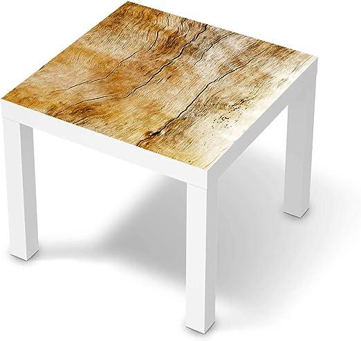 creatisto Möbelfolie passend für IKEA Lack Tisch 55x55 cm I Möbeldeko Möbel Folie Tattoo Sticker I Wohn Deko Ideen für Wohnzimmer, Schlafzimmer
