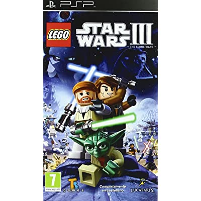 Lego Star Wars 3: sony psp: Videojuegos