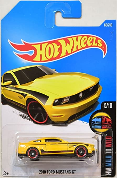 Hot Wheels  Hw Mild To Wild  Ford Mustang Gt   Yellow
