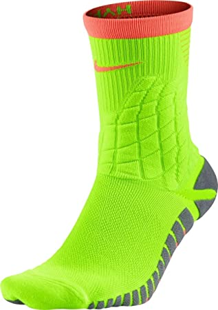 Nike Strike Hypervenom Footbal Calcetines, Hombre, Verde (Electric Green/Hyper Orange), 6/7.5: Amazon.es: Deportes y aire libre