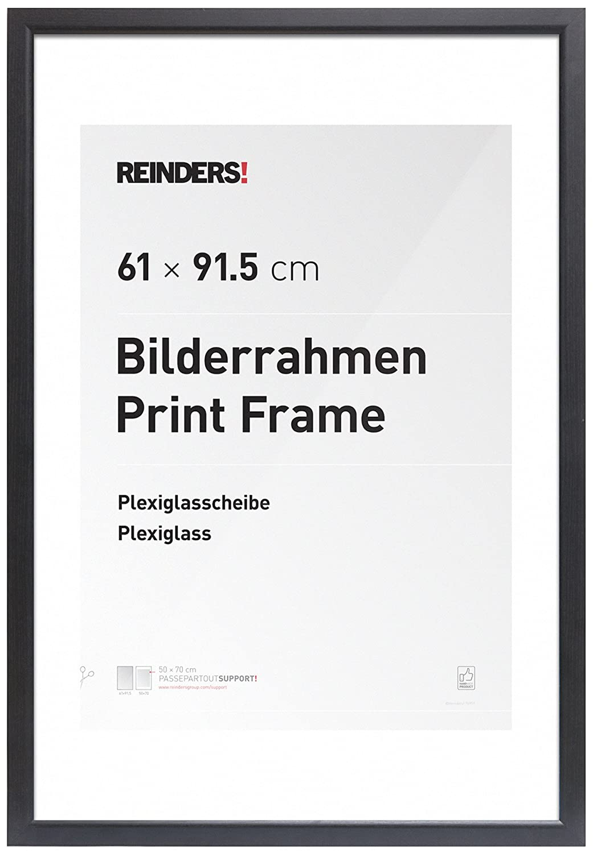 Amazon.de: REINDERS Bilderrahmen für Maxi-Poster 61x91, 5cm ...
