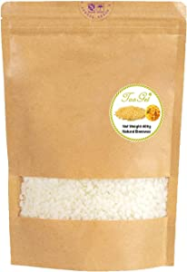 TooGet Pure White Beeswax Pellets, Natural Beeswax Beads, Beeswax Pastilles - Premium Quality, Cosmetic Grade - 14 OZ