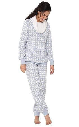 5b699dc9d1 PajamaGram Soft Fleece Pajamas Women - Womens Pajama Sets at Amazon ...