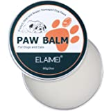 ELAIMEI Dog Paw Wax (2 Oz) - Natural Paw Balm for Dogs Heal and Repair Damaged Dog Paws, Pet Paw Protection Against Heat, Hot