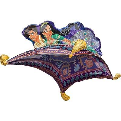 "Anagram 39153-01 42"" Aladdin Foil Balloon, Multicolor: Kitchen & Dining"