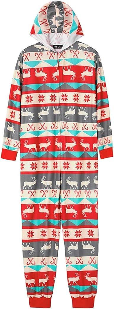 AKlamater - Conjunto de pijama de Navidad para padres e hijos ...