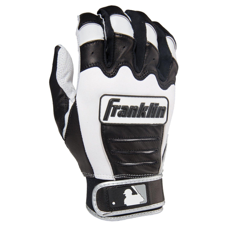 Franklin (フランクリン) スポーツ MLB CFX Pro バッティング グロ―ブ B00GYM4EUK Youth Medium Pearl/Black/Silver Pearl/Black/Silver Youth Medium