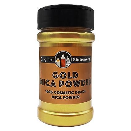 Amazon.com: Gold Mica Powder Pearl Pigment - 3.5 ounces/100 Grams ...