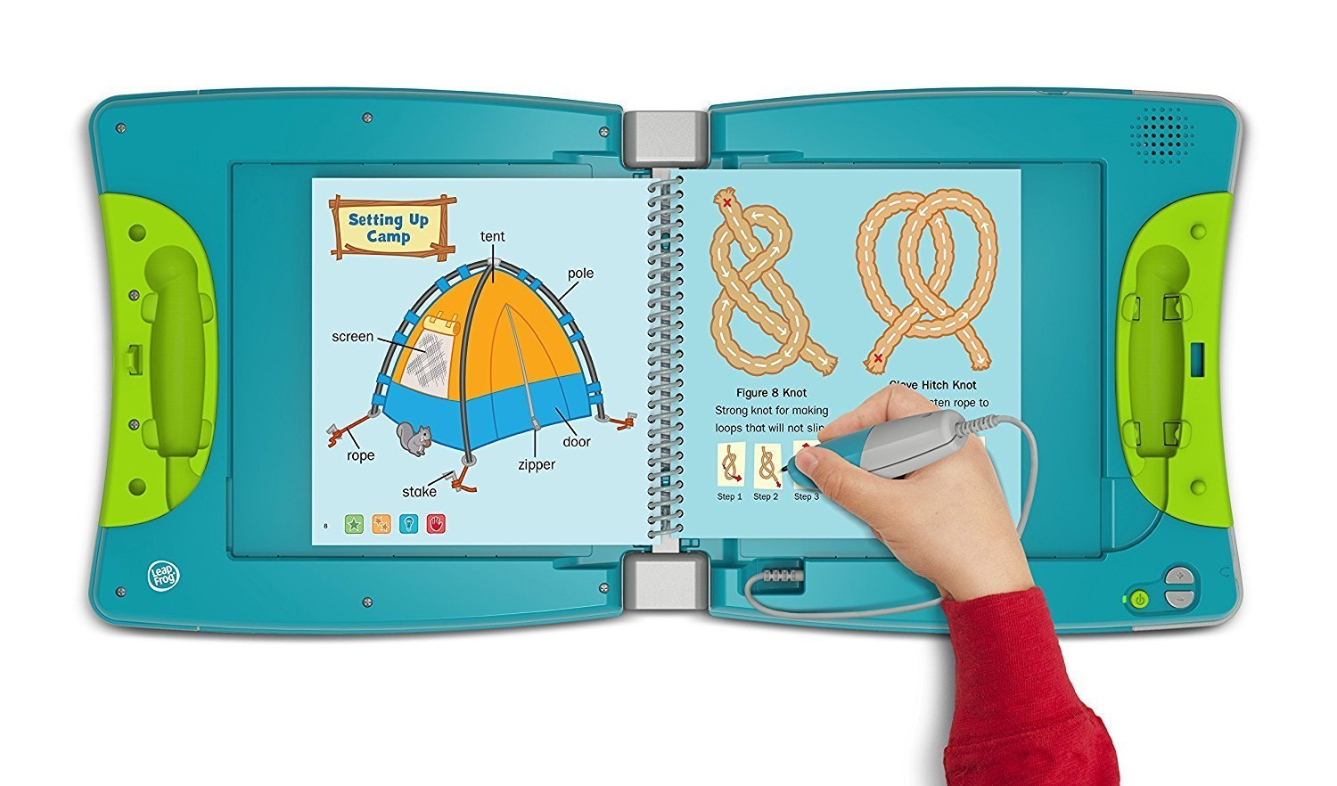 LeapFrog LeapStart Level 3 Kindergarten Book Bundle with Reading Adventures and Cook It Up! Math by LeapStart (Image #4)