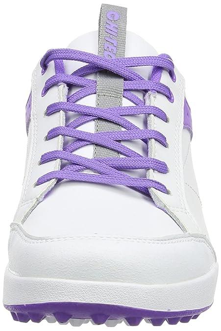 Hi-Tec Ht Combi Sneaker, Damen Golfschuhe, Weiß (White/Purple), 37 EU