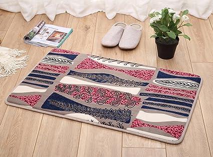 Dt tappeti antiscivolo da bagno tappeto da bagno in velluto di