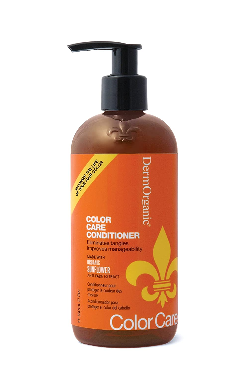 DermOrganic Sulfate-Free Color Care Conditioner, 12 oz.