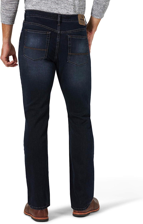 Wrangler Mens Authentics Mens Slim Fit Straight Leg Jean Jeans