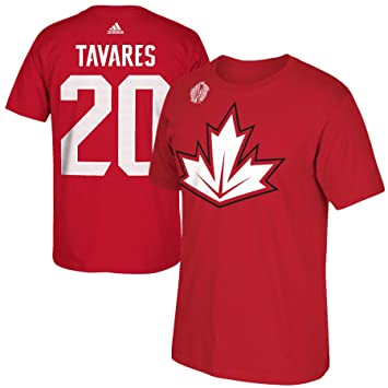 best authentic a29f9 0357d Canada John Tavares 2016 World Cup Of Hockey Player Name ...