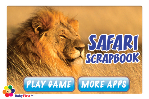 Safari Scrapbook for Kids