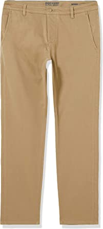 Dockers Pantalon Flex Tapered Khaki Hombre Amazon Es Ropa Y Accesorios