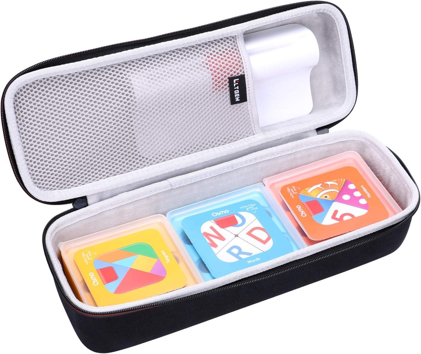 LTGEM EVA Hard Case for Osmo Genius Kit for iPad - Travel Protective Carrying Storage Bag