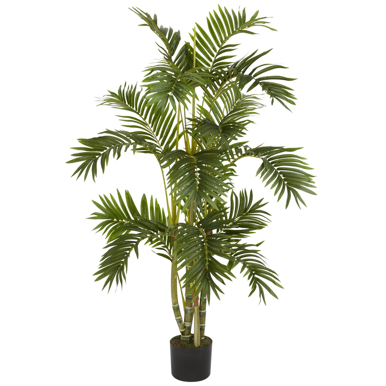 Nearly Natural 5336 Areca Palm Silk Tree, 4-Feet, Green
