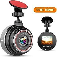 """FLYLINKTECH Dash Cam Telecamera per Auto FHD 1080P, Grandangolare di 170°Super-Condensatore WDR, Visione Notturna, Dashcam con Registrazione in Loop, G-Sensor, 1.5""""Schermo LCD"""