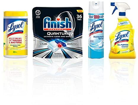 Amazon.com: LYSOL Total Clean Home Bundle con acabado ...